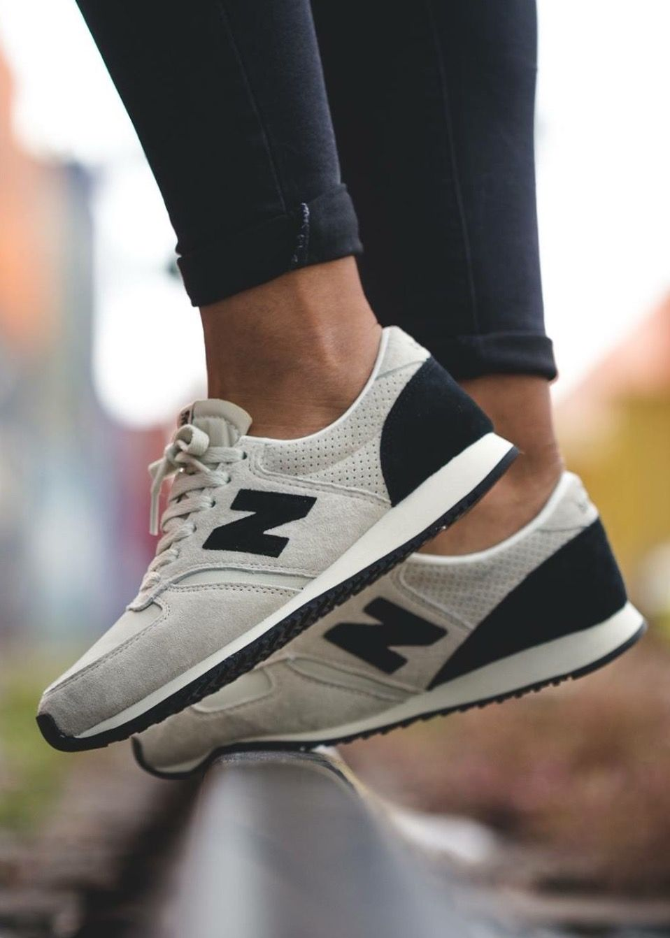 New Balance 420: White | Sneakers fashion, Sneakers fashion ...