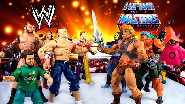 WWE battles Masters of the Universe for He-Man's 30th anniversary