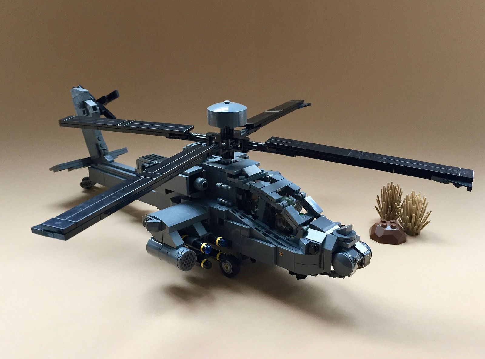 Brickmania AH-64E Guardian 1 | Lego Military (Scale Models) | Lego