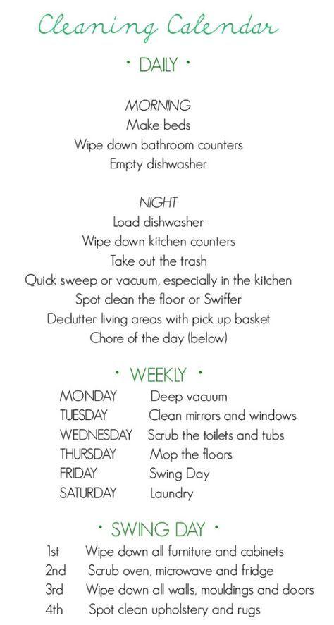 Clean windows weekly?  Really?  I am lazy!