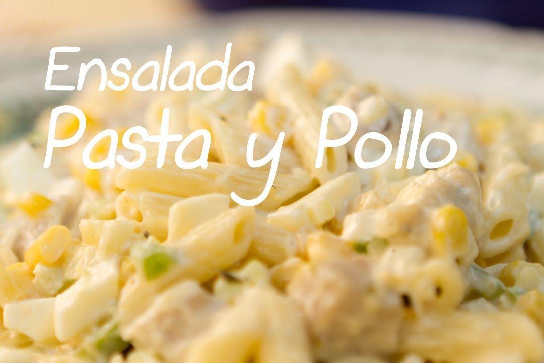 Ensalada Fría De Pasta Y Pollo Estilo Delicatessen Americano Pasta Con Pollo Ensalada De Pasta Fría Ensalada De Pasta