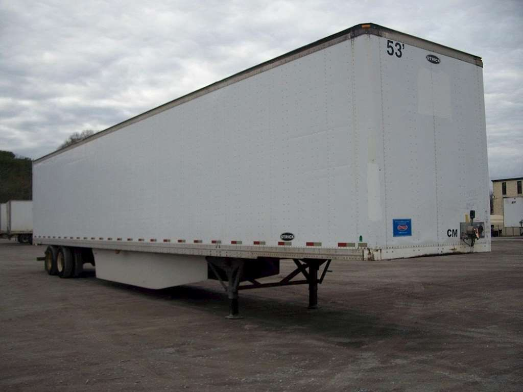 Used Trailer Rental For Most Is The Best Option Check Out How Easy It Is To Rent A 48ft Or 53ft Dry Van Re Flatbed Trailer Trailers For Sale Tractor Trailers
