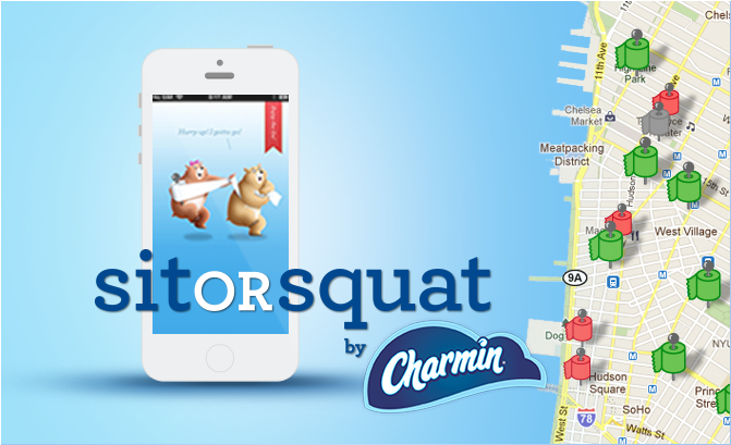 Need A Bathroom Finder, On The Go? Sit Or Squat Can Help You Find Clean  Public Restrooms Near You And Help You Avoid The Less Desirable Options!