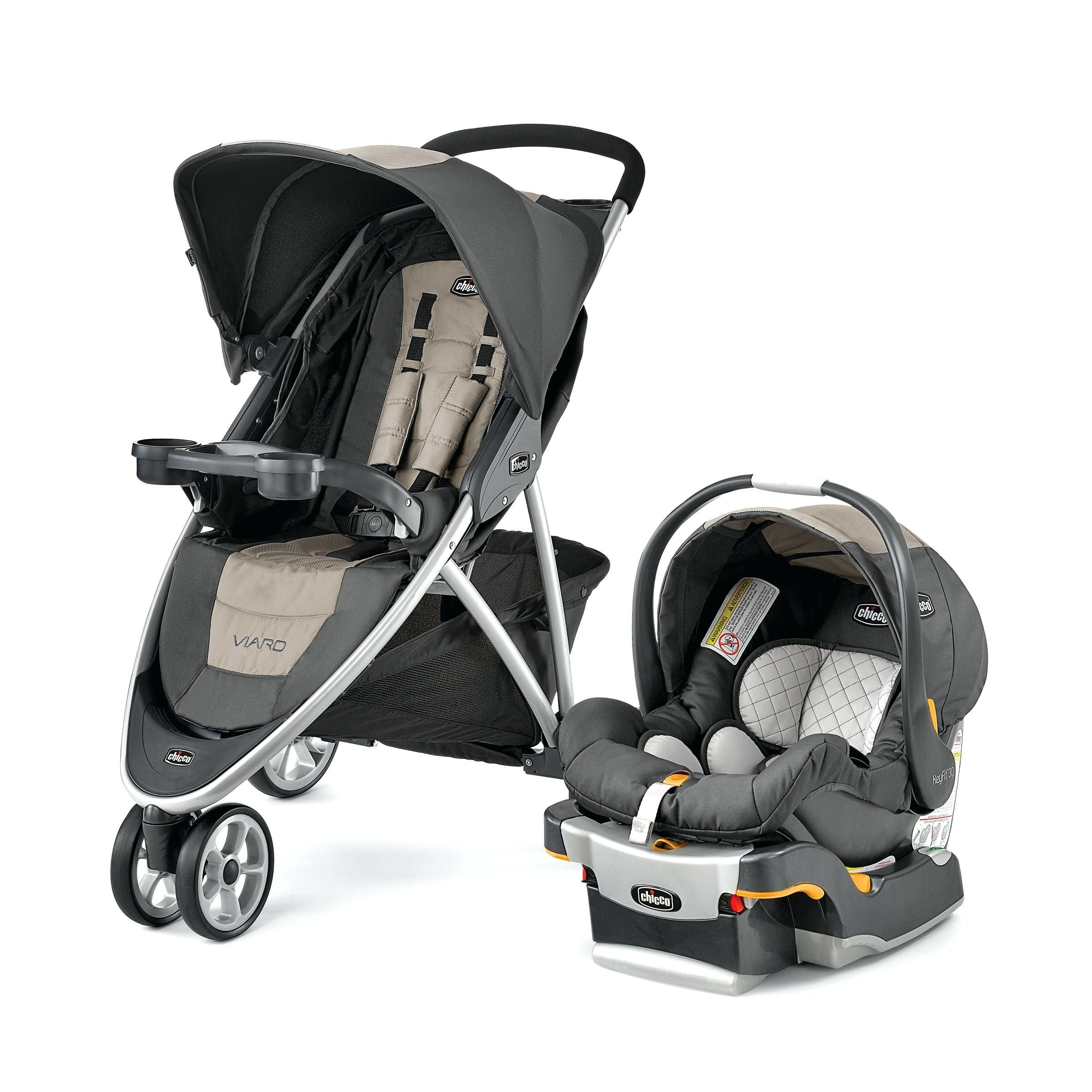 Kinderwagen Kombi Chicco Viaro Kinderwagen Travel System