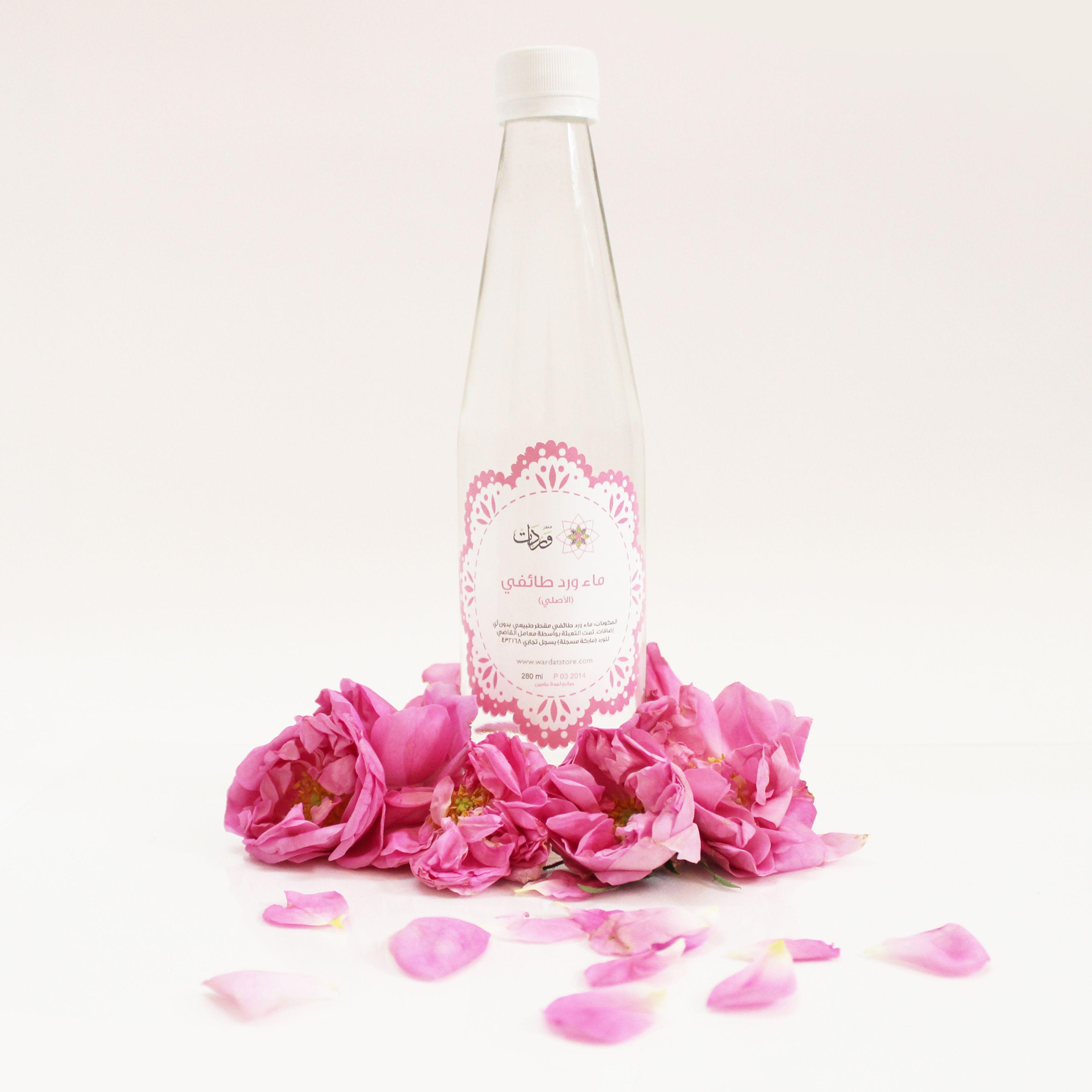 ماء الورد الطائفي عادي متجر وردات Wine Bottle Rose Wine Bottle Bottle