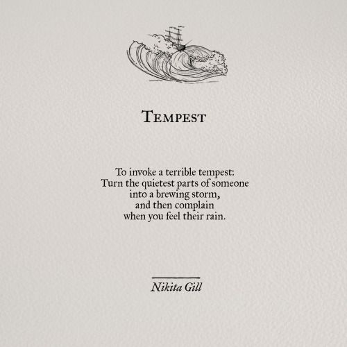 Instagram | Bitter Sweet | Nikita gill, Poetry quotes, Poem quotes