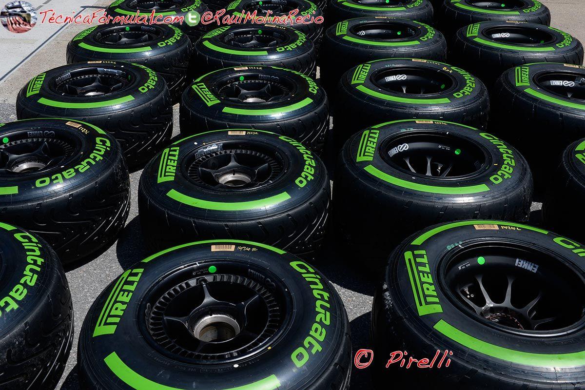 Pirelli consigue por fin un test sobre mojado