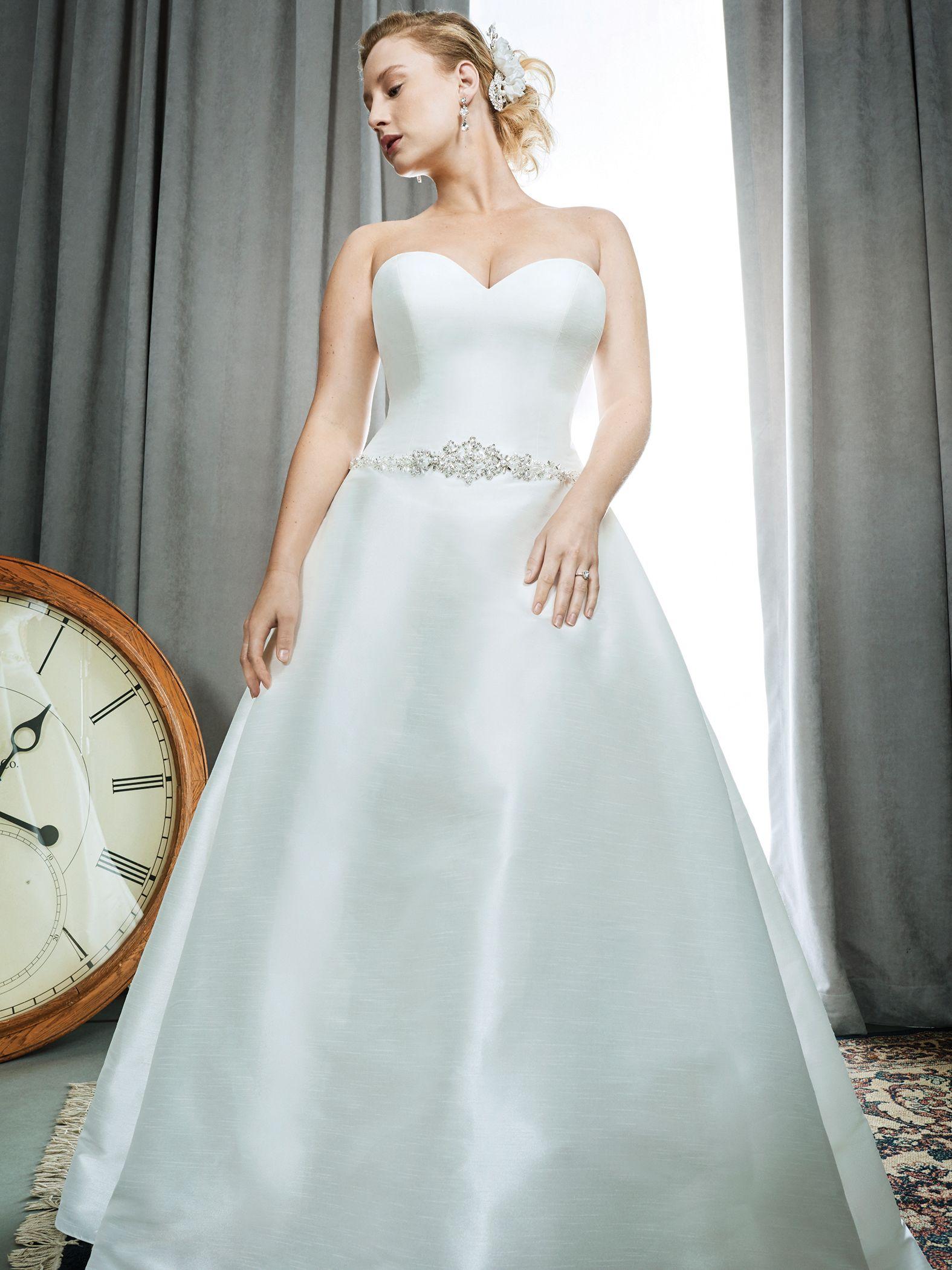 Femme by Kenneth Winston Style 3392 | sleek luxe mikado bridal dress ...