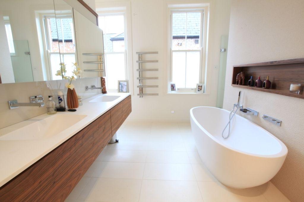Freestanding bathtub / oval / composite - ECO FREESTANDING BATH ...