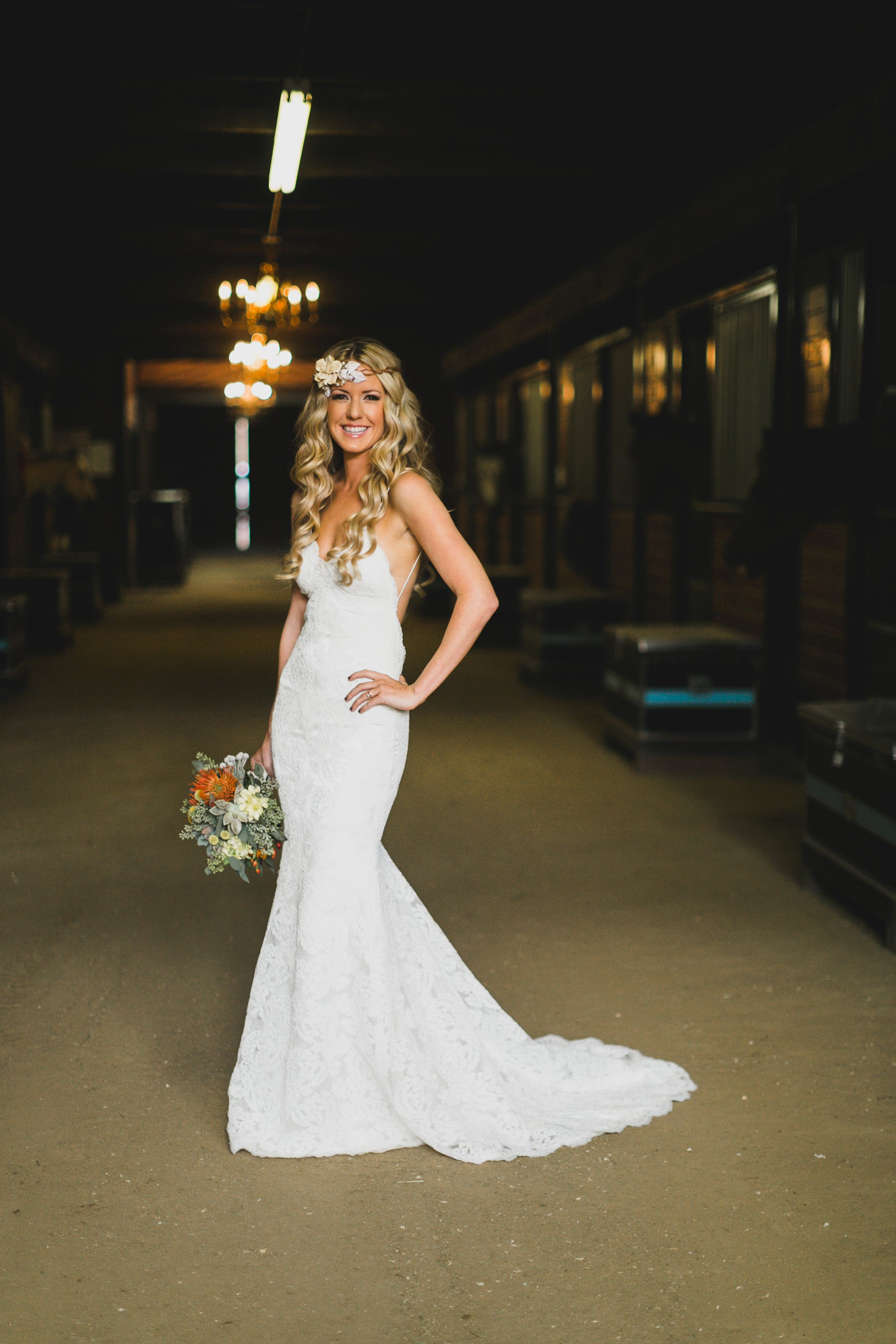 Katie May Backless Bridal Gown: Poipu Gown. Photo courtesy of ...