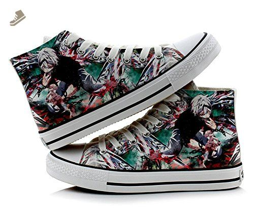One Piece Luffy Cosplay Shoes Canvas Shoes Sneakers Colourful 2