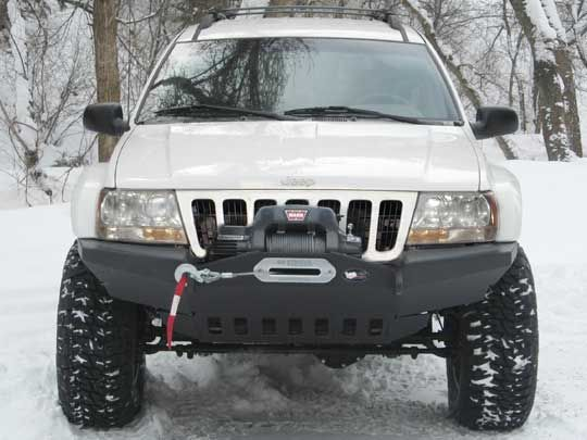 Front Bumper For Grand Cherokee Wj Jipe Auto Carros