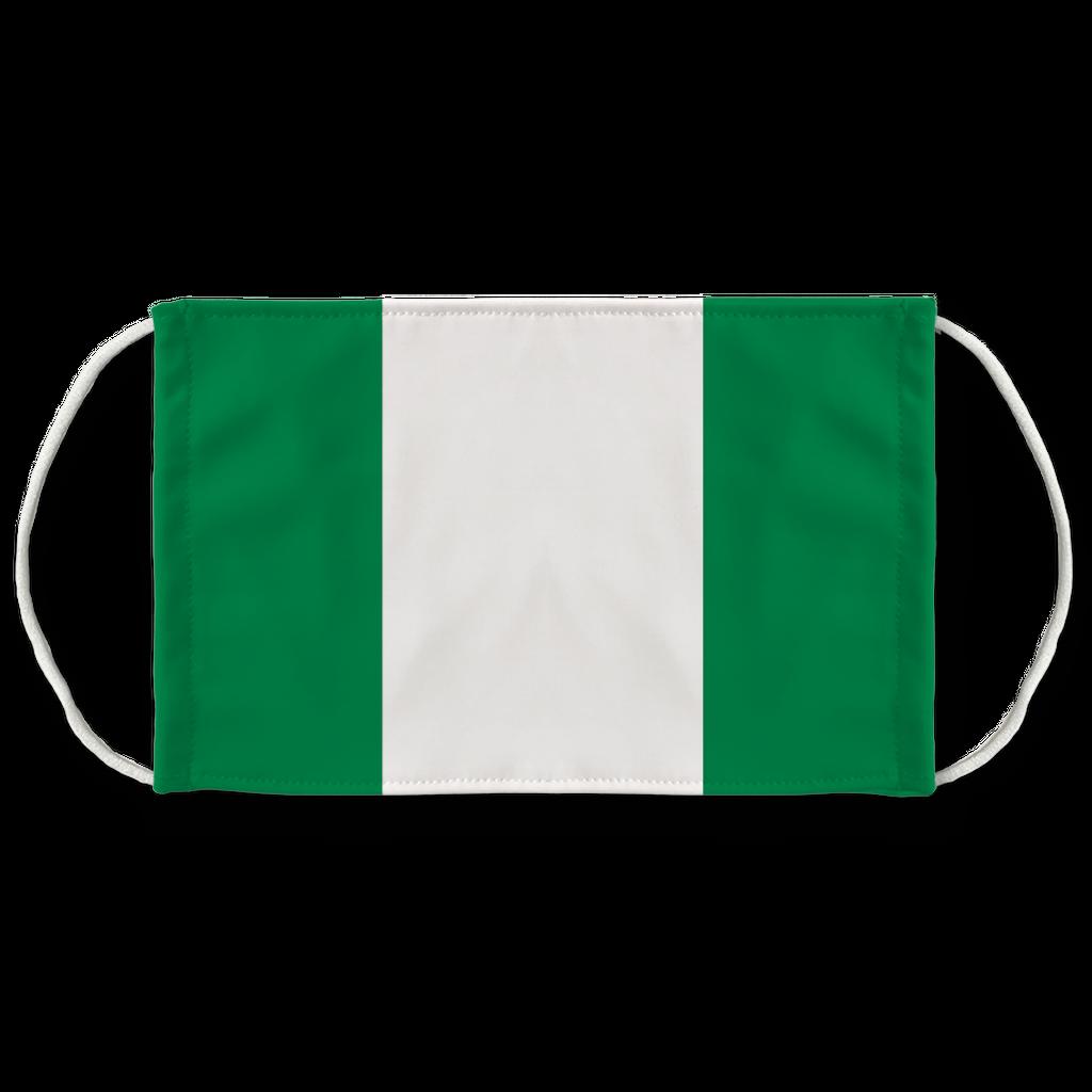 Nigeria Flag Face Mask Flag Face Nigeria Flag Face Mask