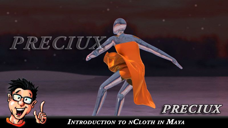 Digital-Tutors – Introduction to nCloth in Maya | school in