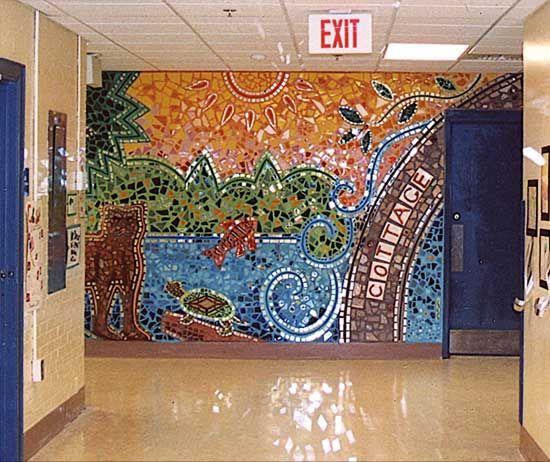 Long Mirror Wall Art