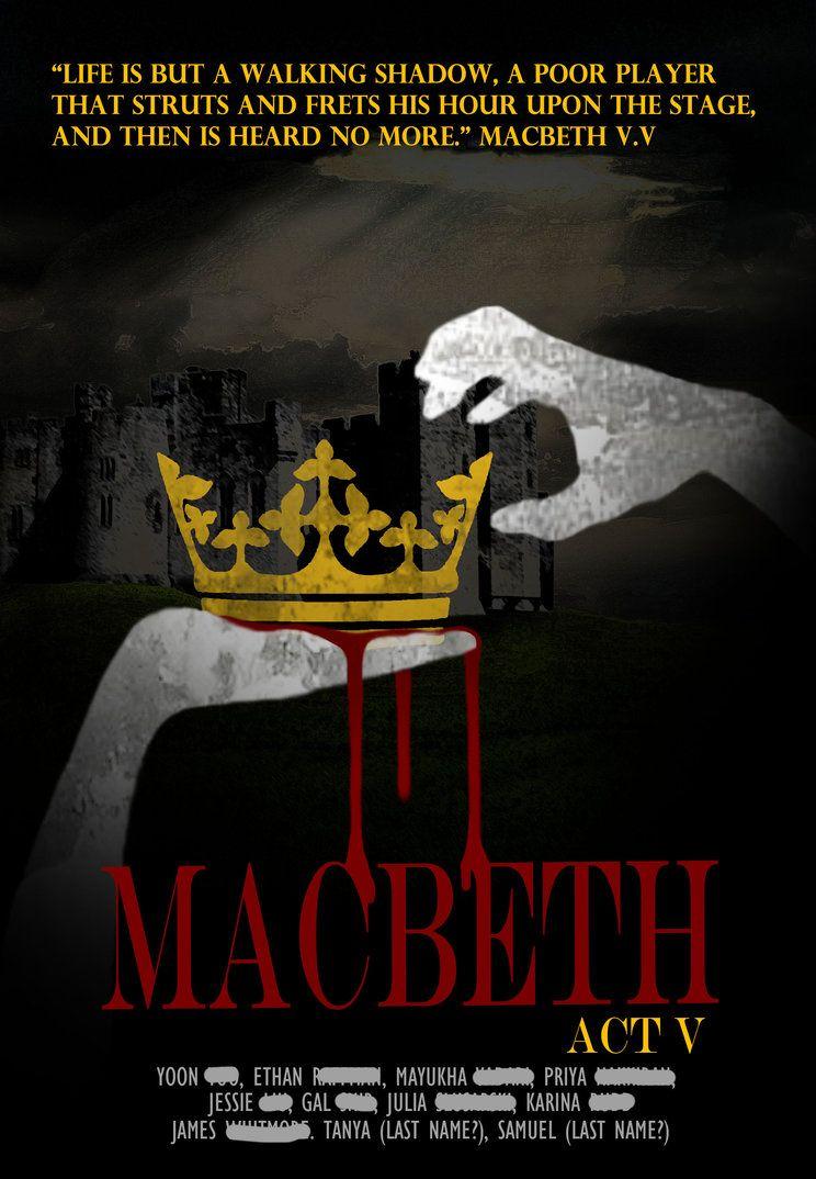 Macbeth poster ideas/inspiration   Macbeth Type Illustration ...