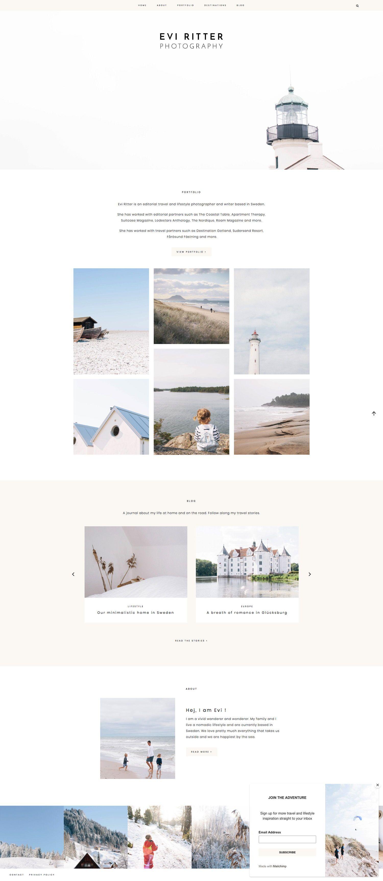 Pin By Tina Drejer Bay On Branding In 2020 Portfolio Website Design Wordpress Website Design Wordpress Design