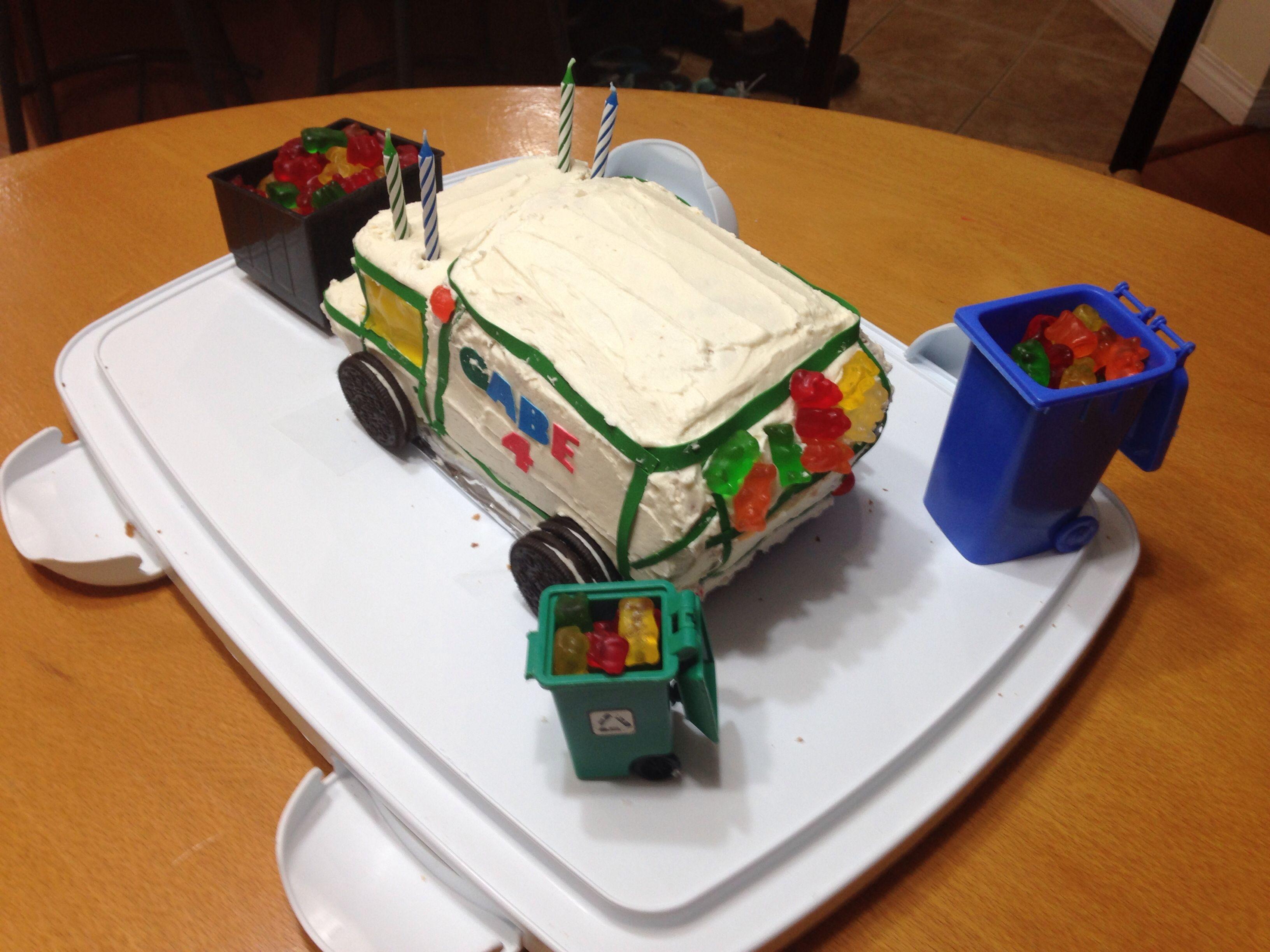 Gabe's 4th Birthday cake