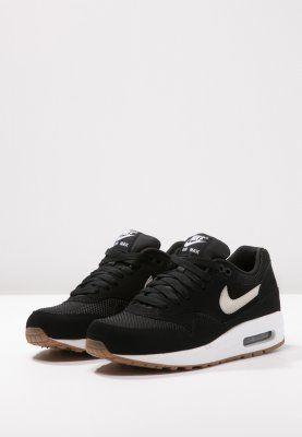 sports shoes f8f97 db067 Nike Sportswear AIR MAX 1 ESSENTIAL - Baskets basses - black light bone  white - ZALANDO.FR