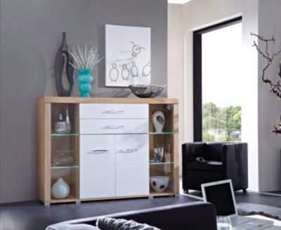 iNNOstyle Highboard Drive Plus inkl LED-Beleuchtung Jetzt - wohnzimmer led beleuchtung