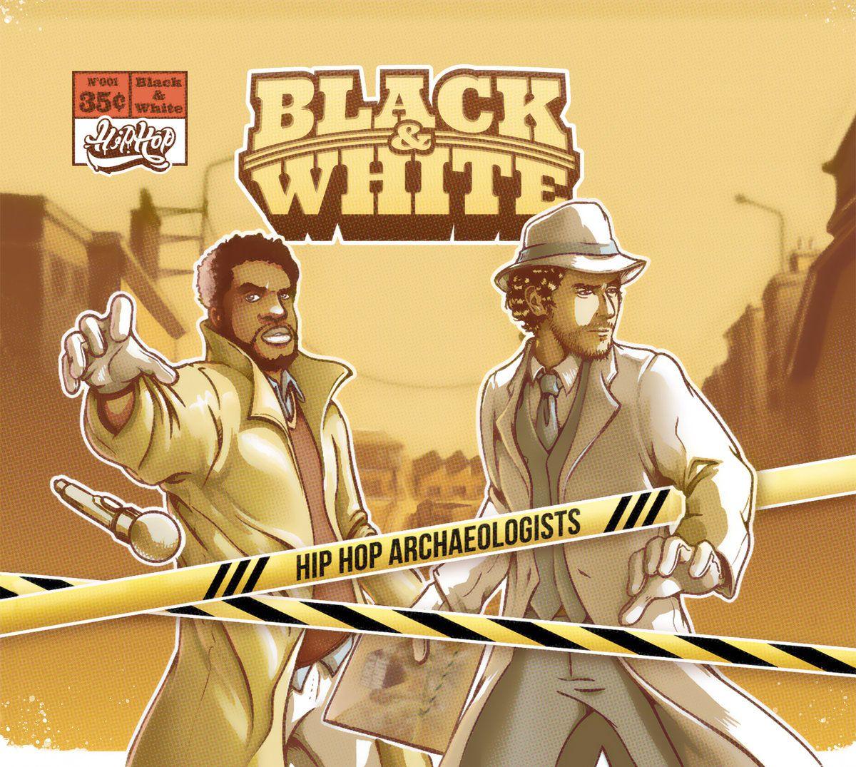 Black white hip hop archaeologists hip hop