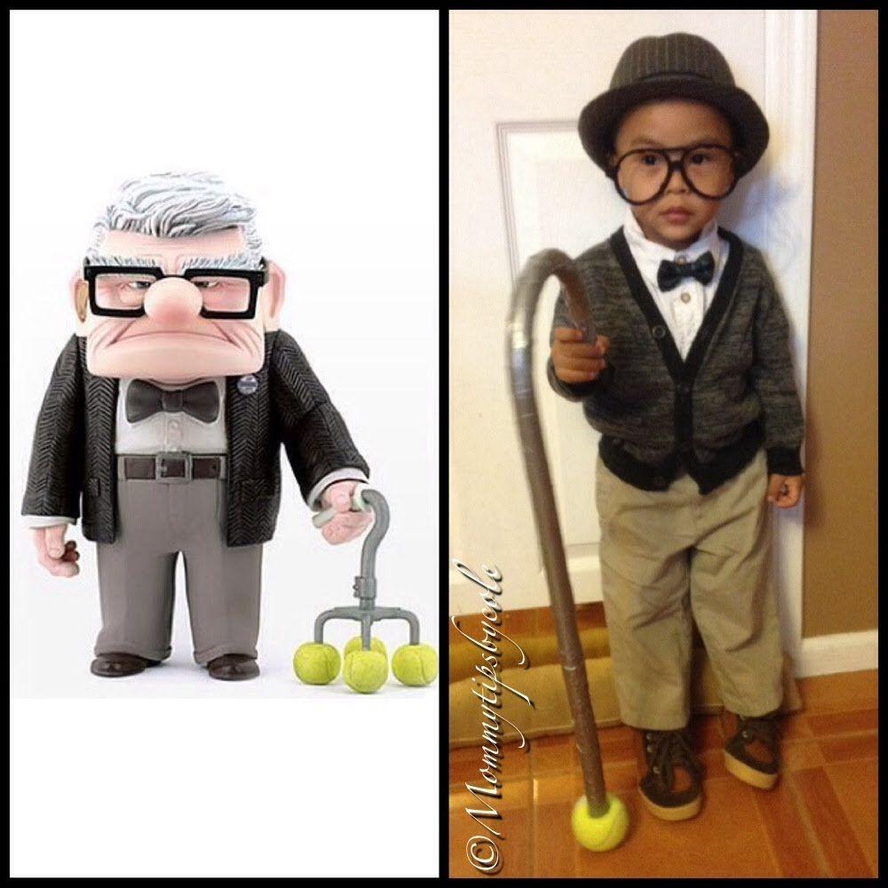 Homemade Disney Costume Ideas Diy Disneys Up Costume Mr Fredrickson Aka Grandpa From Up
