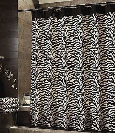 Zebra Shower Curtain Set Decor Ideas Shower Curtain Fabric