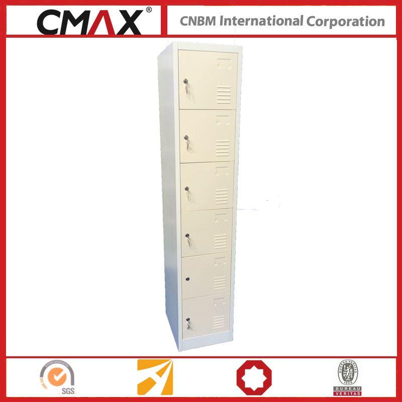 Hot Item Steel Locker 6 Compartment Cmax Sl06 01 In 2020 Steel Locker Lockers Steel Cabinet