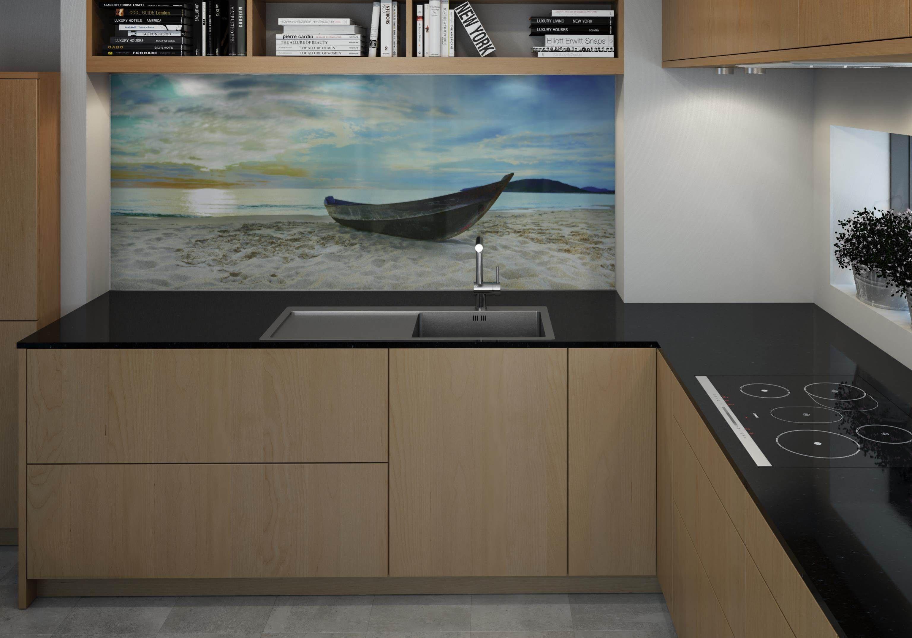 Lechner Küchenarbeitsplatten. Design: Nero Asoluto ...