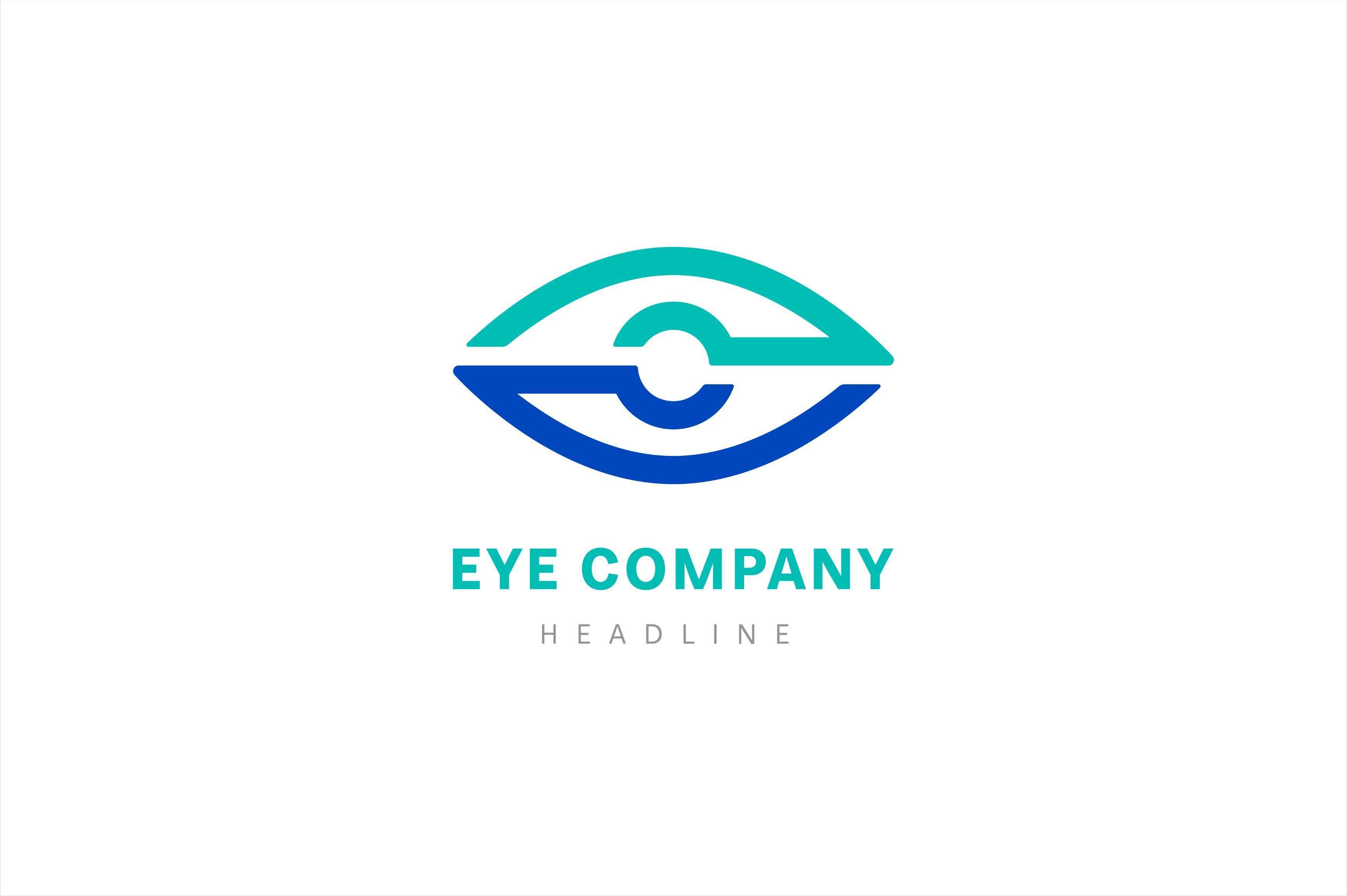 Eye company logo template Corporate logo design, Logo