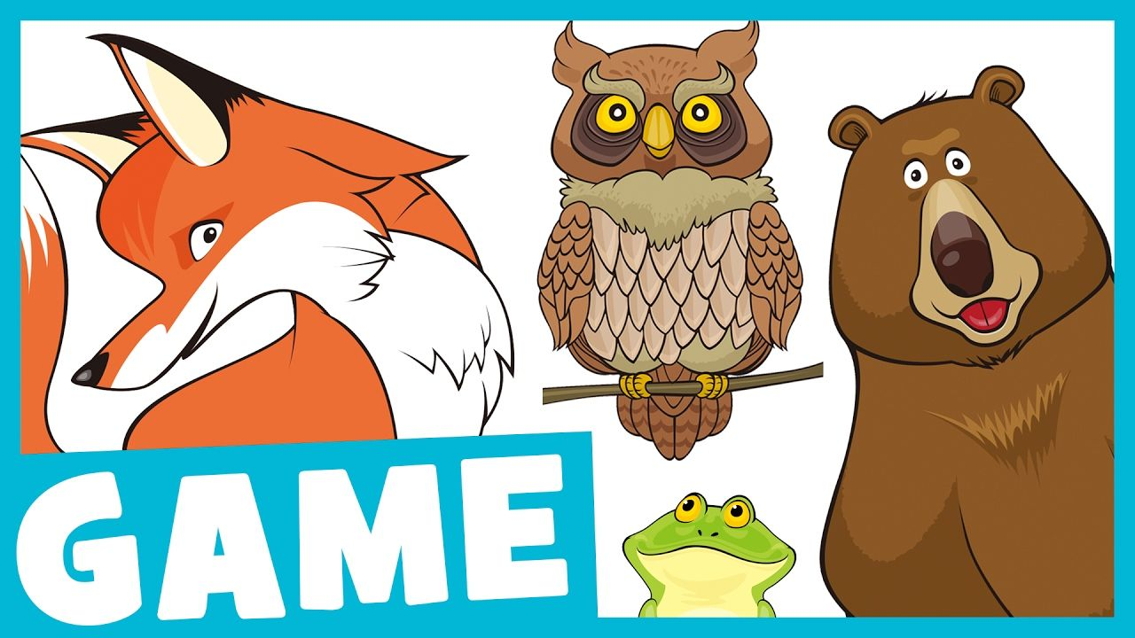 Learn Forest Animals for Kids What Is It? Game for Kids