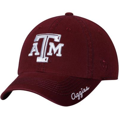 Texas A&M Aggies Top of the World Women's Crew Adjustable Hat - Maroon