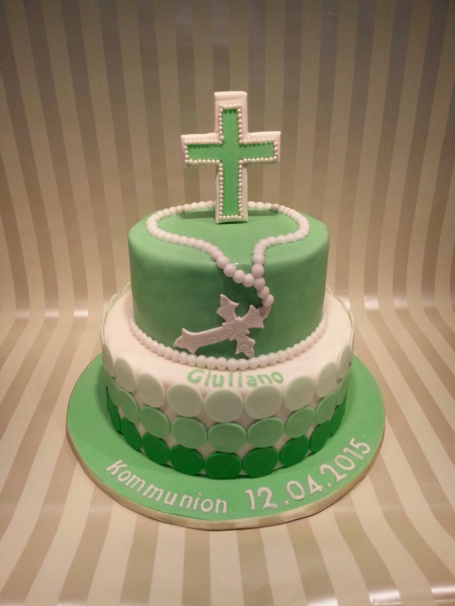 Kommunionstorte | Meine Torten | Cake, Fondant und Desserts