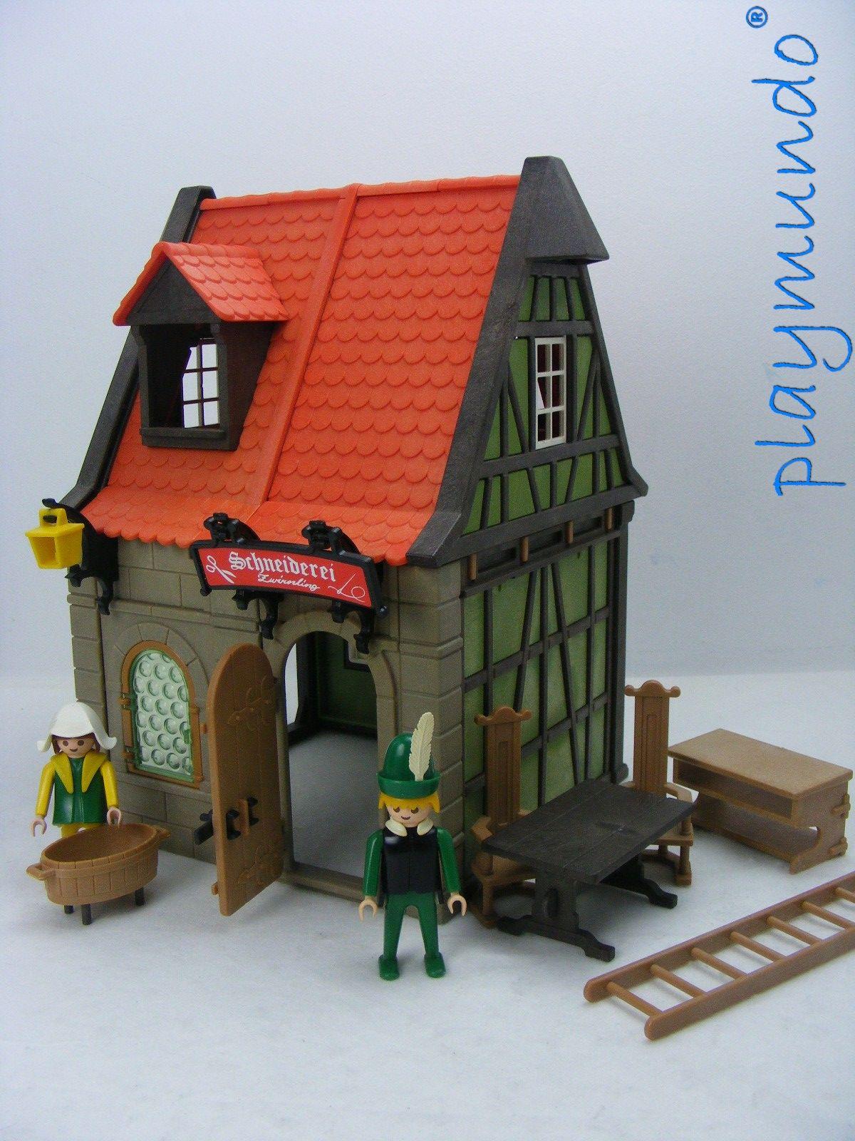 playmobil 3440 sastreria medieval a o 1977 1990 http. Black Bedroom Furniture Sets. Home Design Ideas