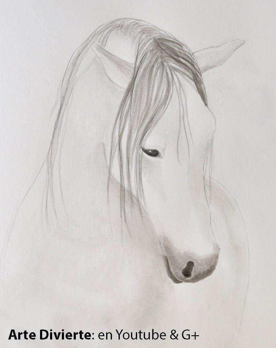 Cómo pintar un caballo con tinta china - Cómo dibujar un caballo ...
