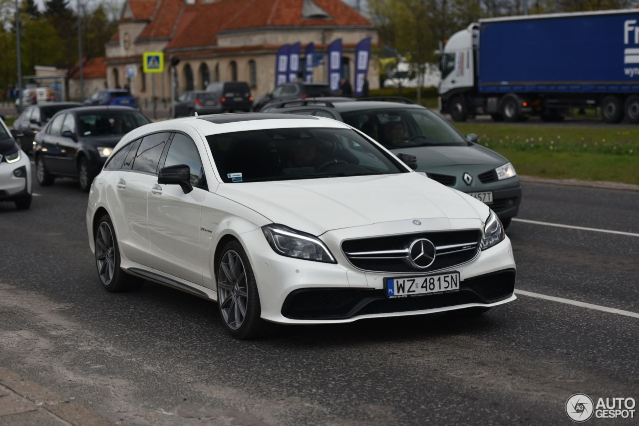 Mercedes Benz Cls 63 Amg S X218 Shooting Brake 2015 Mercedes