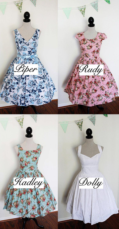 Fein Vintage Brautjunferkleider Etsy Bilder - Hochzeit Kleid Stile ...