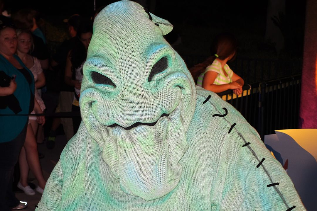 Oogie Boogie as he appeared at Unleash the Villains in Hollywood Studios 2013