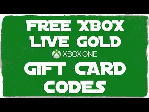 Free Xbox Gift Card Codes - Free Xbox Live Gold Membership 2017 - http:/