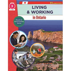 Living and working in Ontario, grade 3. (2017). by Bill