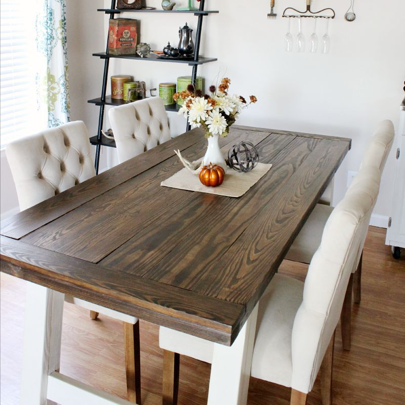 10 DIY Dining Table Ideas   Build Your Own Table | Dining Room Table,  Pottery And Barn