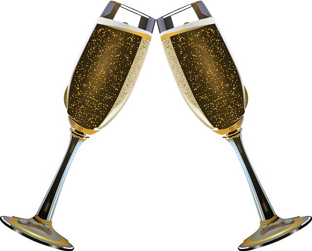 Sekt Und Sylvester Alcohol Champagne Champagne Flute