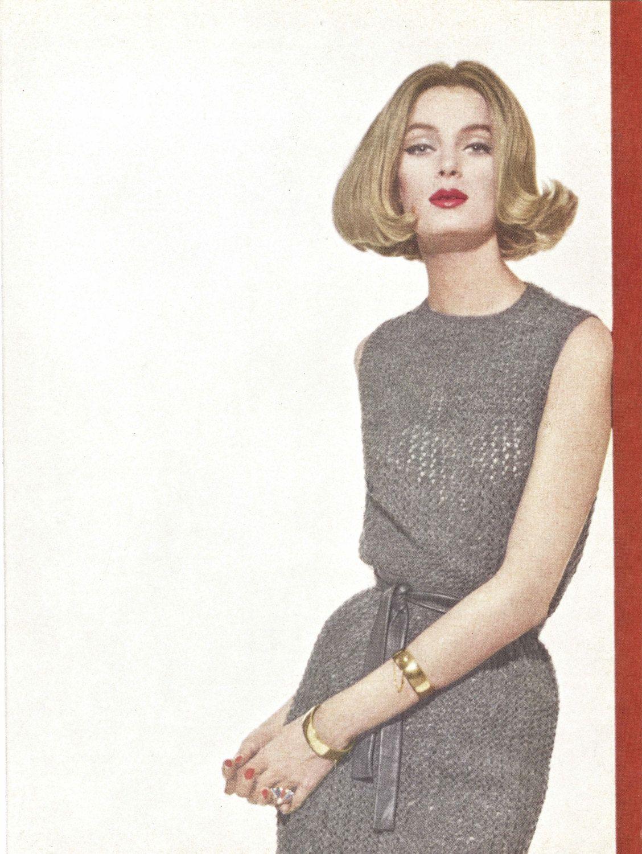 Granite dress 1960s knitting knit sweaterdress tunic sweater granite dress 1960s knitting knit sweaterdress tunic sweater pattern vintage vogue knit 1961 bankloansurffo Choice Image