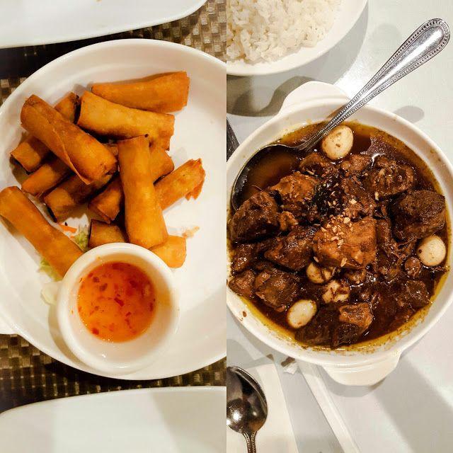Lumpianitas And Pork Adobo L Patio Filipino Cuisine L San Bruno Ca