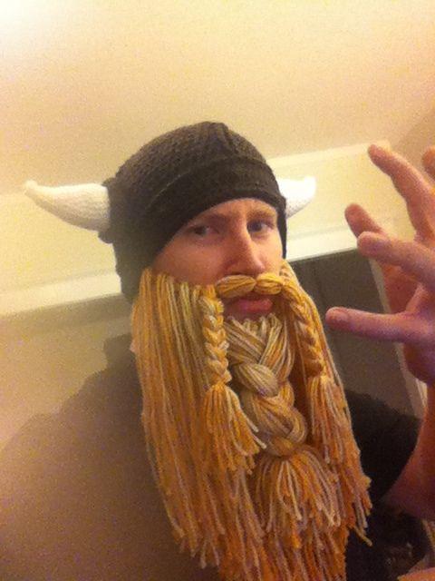 viking crochet beard | My Style | Pinterest | Crochet beard, Crochet ...
