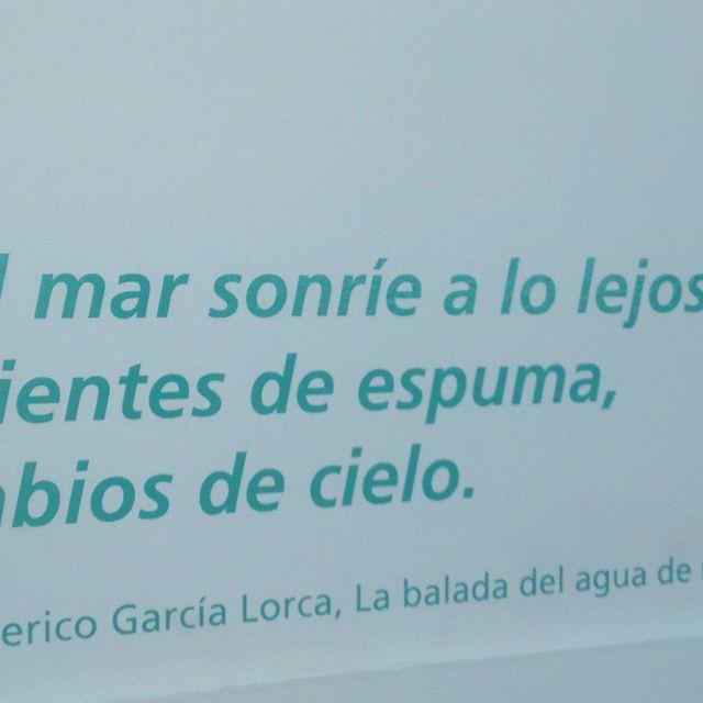Federico García Lorca Sobre El Mar En Cadiz España
