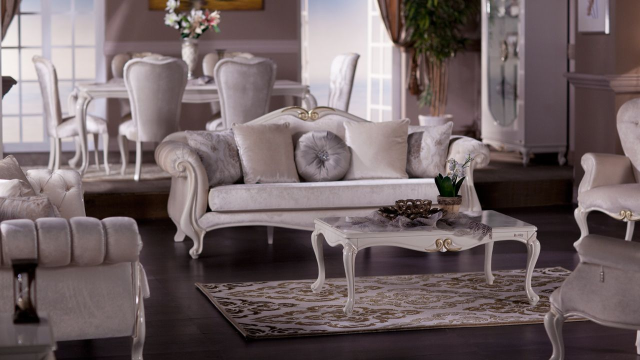 Queen Yemek Odasi Takimi Istikbal Home Living Room Interior Design Furniture