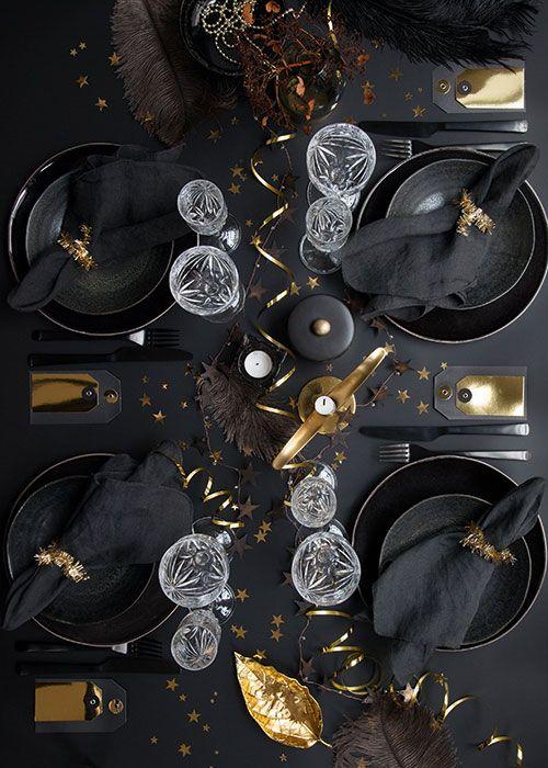 6 overdådige nytårsborde til årets sidste aften | Femina