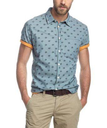 Esprit Camisa Para Hombre KvrWGB4