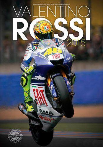 Calendario Valentino Rossi, 2015 Calendario 2015 del Campeón en motos Valentino Rossi.